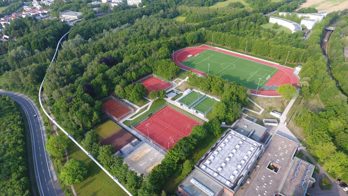 Sportanlagen Technische Universität, Dortmund