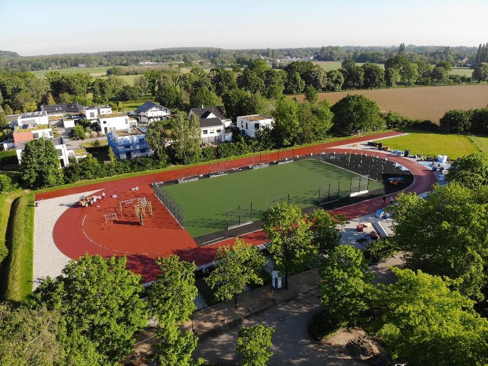 Sportplatz Bischöfliche Maria-Montessori-Gesamtschule, Krefeld
